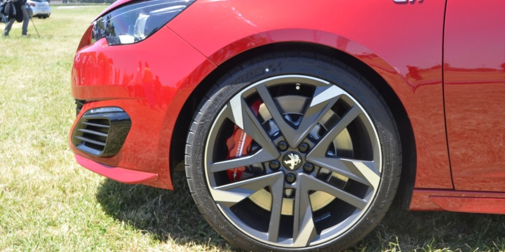 Peugeot 308 S GTi perfil llanta