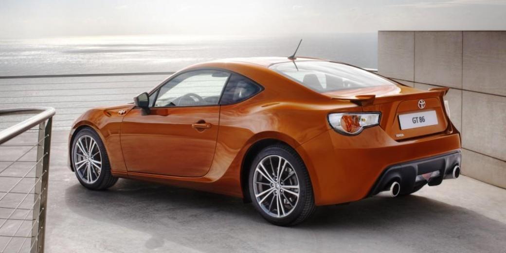 Toyota gt86 perfil