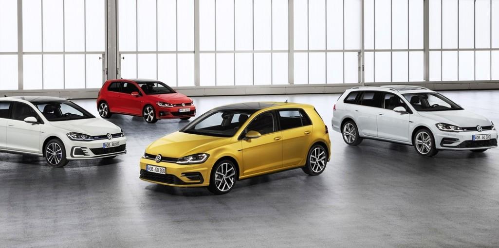 Volkswagen Golf colores