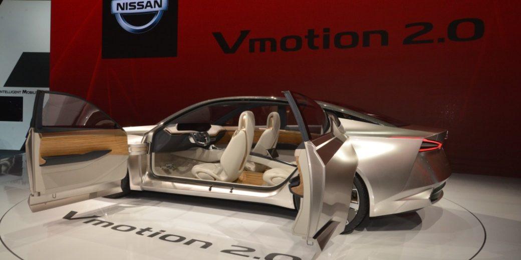 Nissan V motion 2.0 4