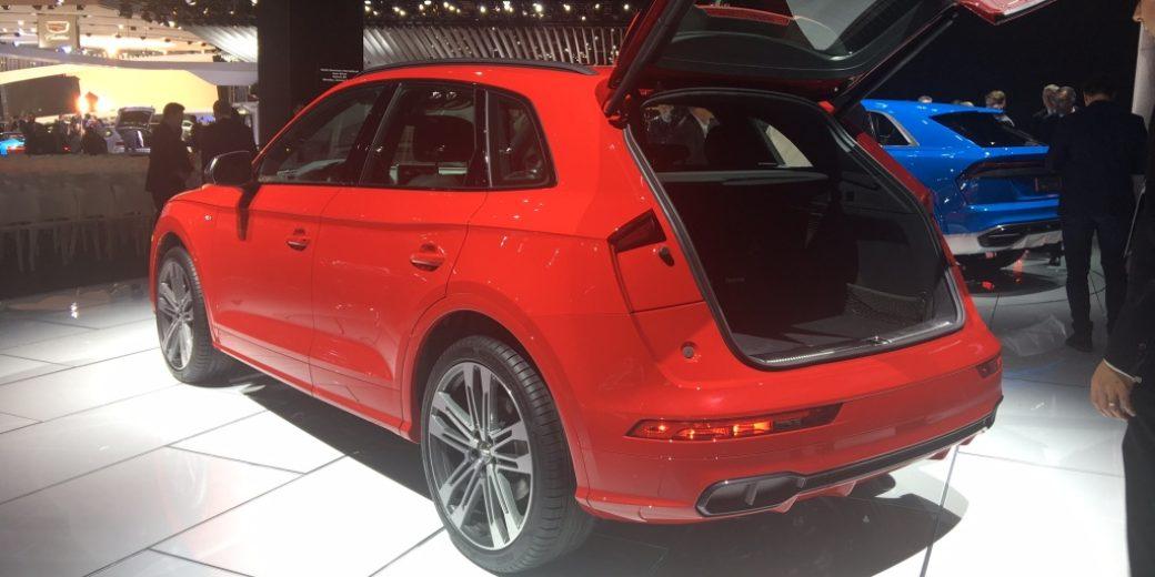Audi Q5 atras
