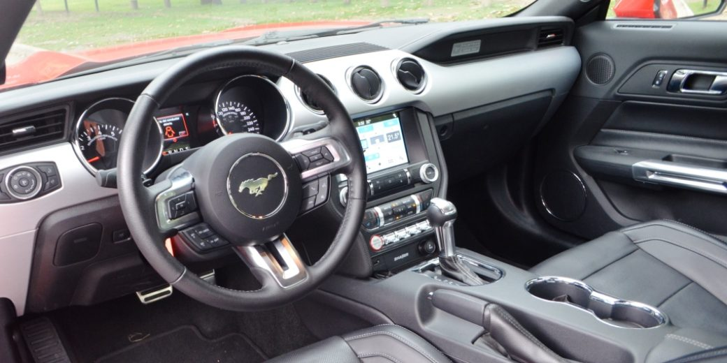 Ford Mustang interior 1