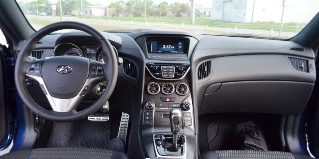 Hyundai Genesis interior 1
