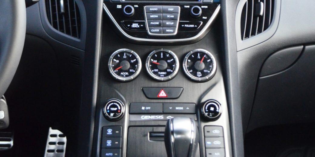 Hyundai Genesis interior 3