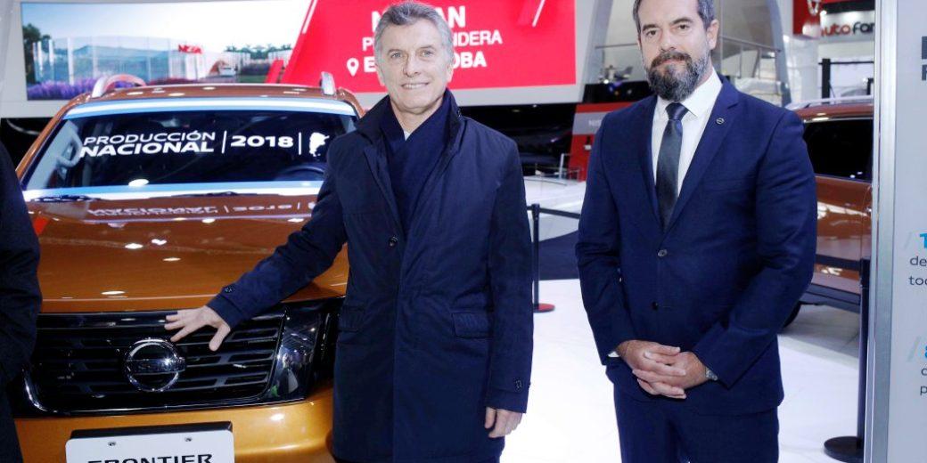 Mauricio Macri – Diego Vignati – Nissan – SalonAutoBA