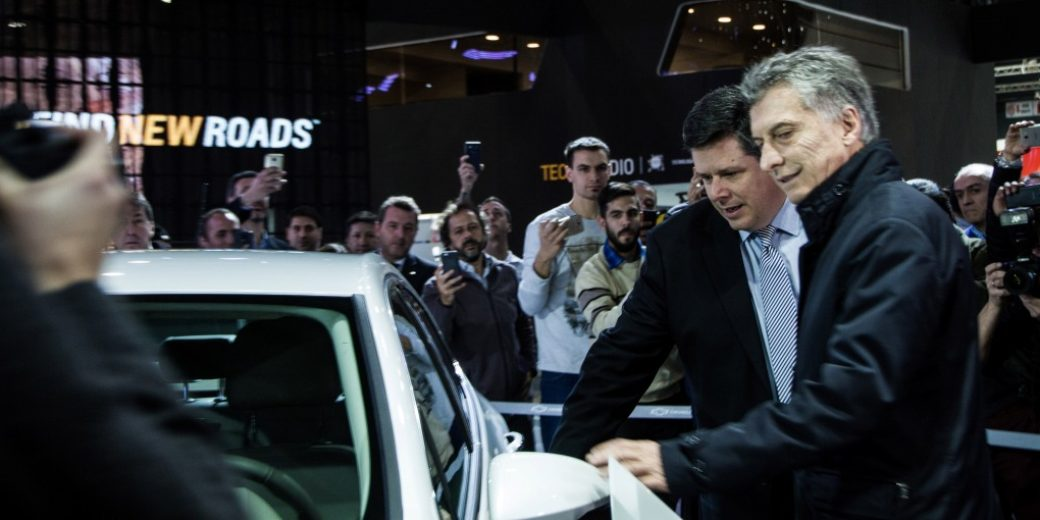 Mauricio Macri – Federico Ovejero – Chevrolet – Salon AutoBA