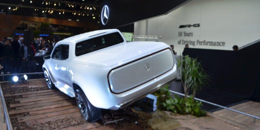 Mercedes Benz Clase X blanca 3