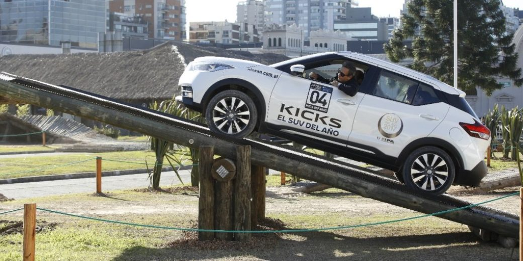 Nissan Kicks off road Salon