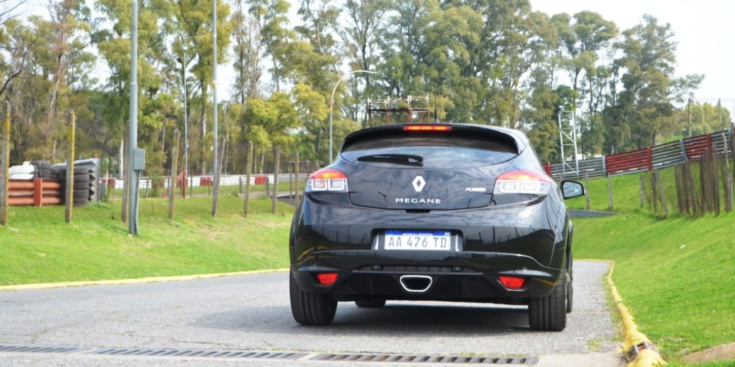 Renault Megane III RS atras