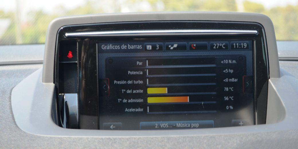 Renault Megane III RS interior 4