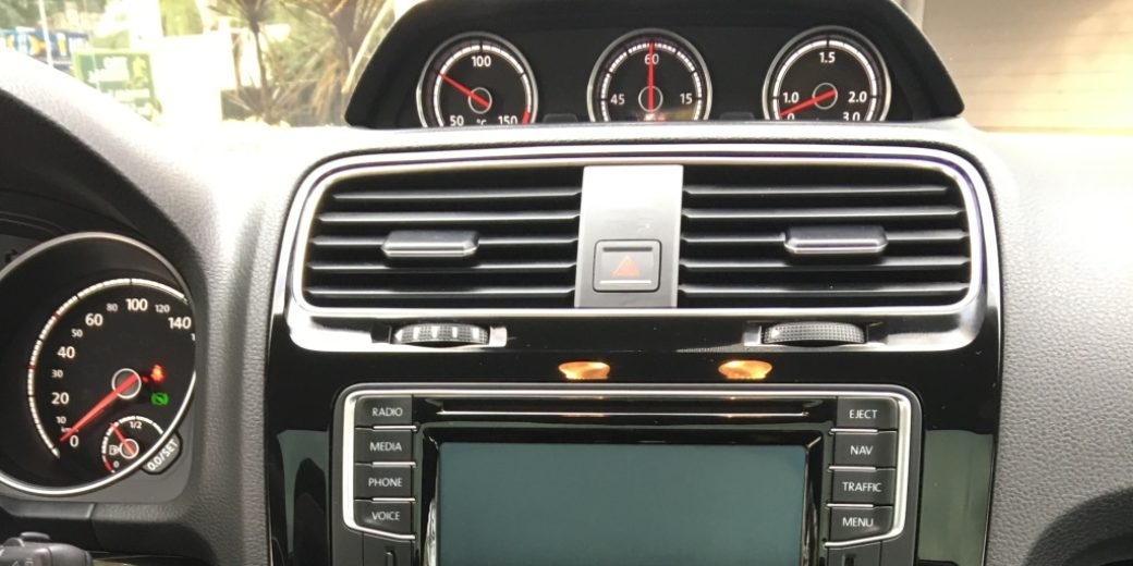 VW scirocco interior 2