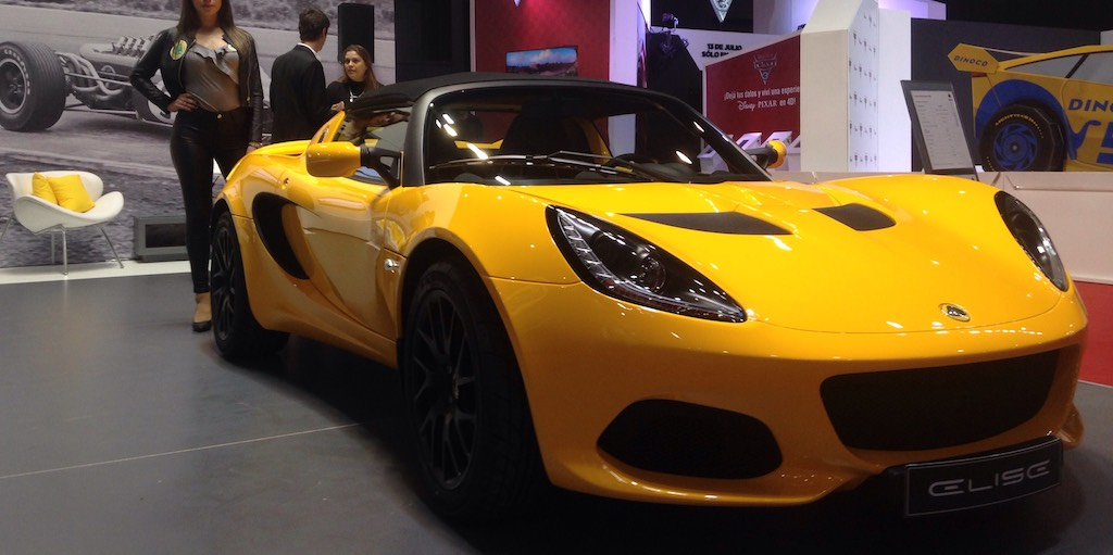 e243598478b3 La automotriz británica Lotus dio el puntapié inicial del Salón del  Automovil de Buenos Aires y lo hizo anunciando su desembarco en el mercado  local junto ...