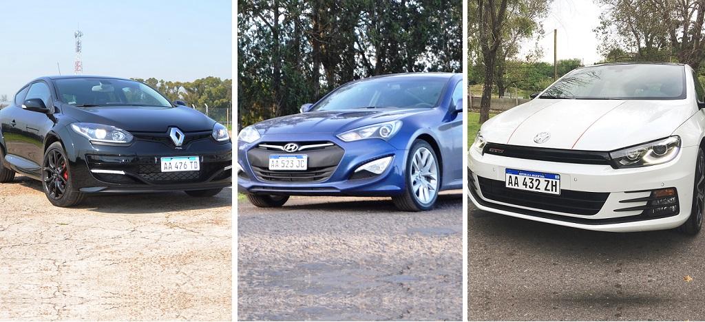 Trio Picante Megane Rs Hyundai Genesis Vw Scirocco Gts Motriz