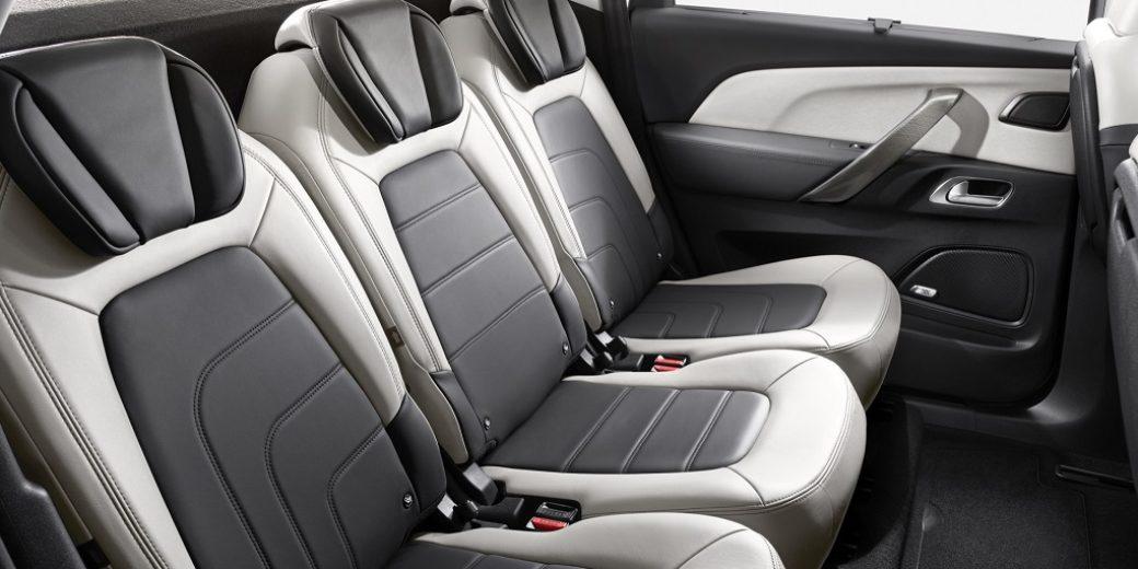Citroen C4 Picasso interior asientos