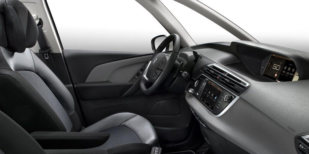 Citroen C4 Picasso interior frente