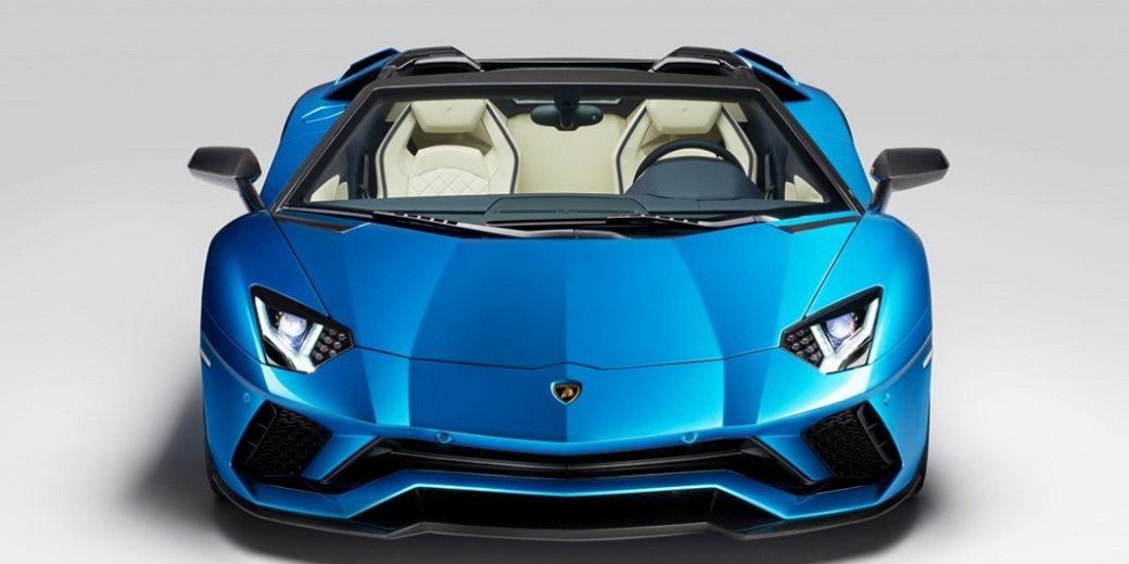 Lamborghini Aventador road 1