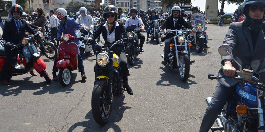 alguna de las riders femeninas que se sumaron al evento