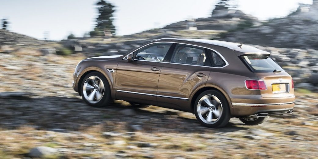 Bentley Bentayga atras