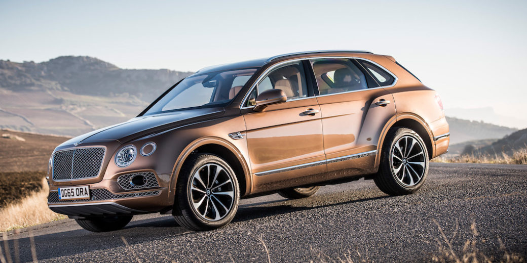 Bentley Bentayga perfil