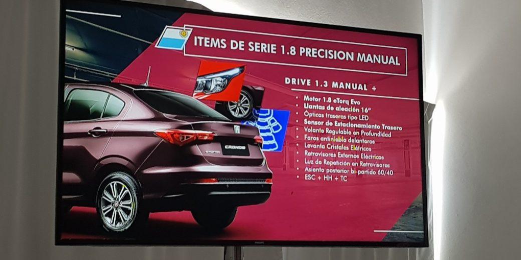 Fiat Cronos Precision1.8