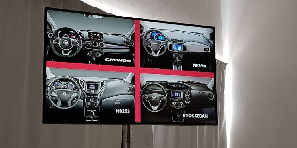 Interior Fiat Cronos Vs competencia2