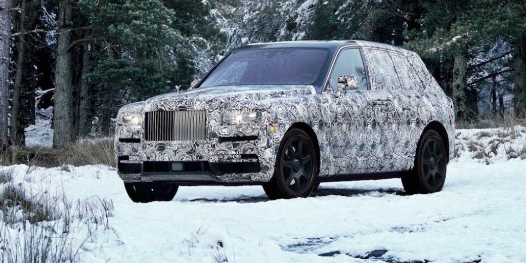 Rolls Royce Cullinan 1