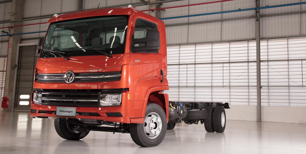 El nuevo camión liviano de Volkswagen llamado Delivery