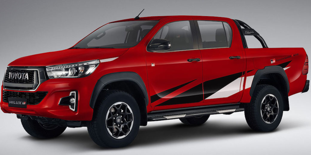 Toyota hilux roja