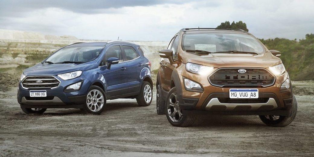 Ford Ecosport y Storm
