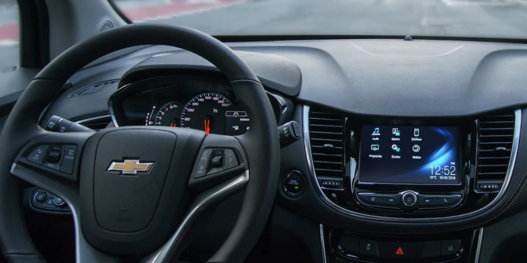 chevrolet tracker interior
