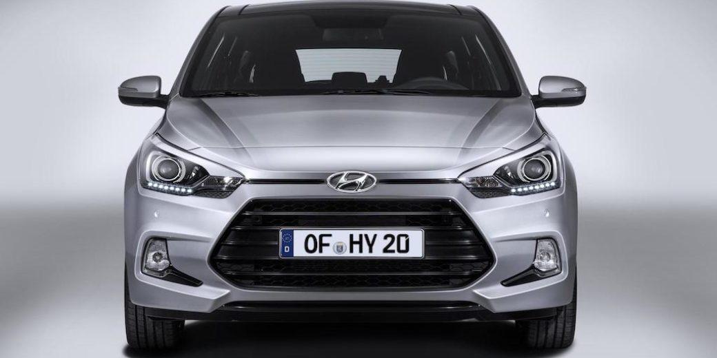 Hyundai i20 frente