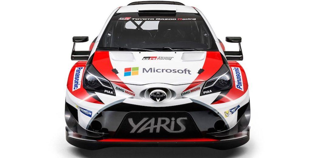 Toyota yaris frente rally