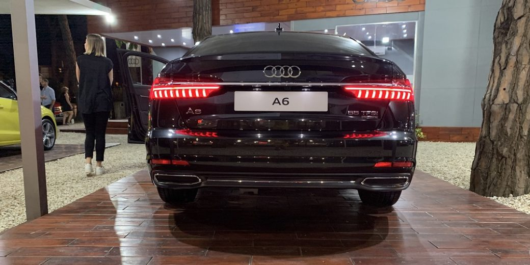 Audi A6 atras Motriz