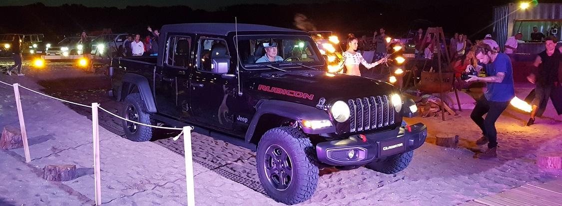Gladiator, la nueva pick up de Jeep, llegará antes de fin de año