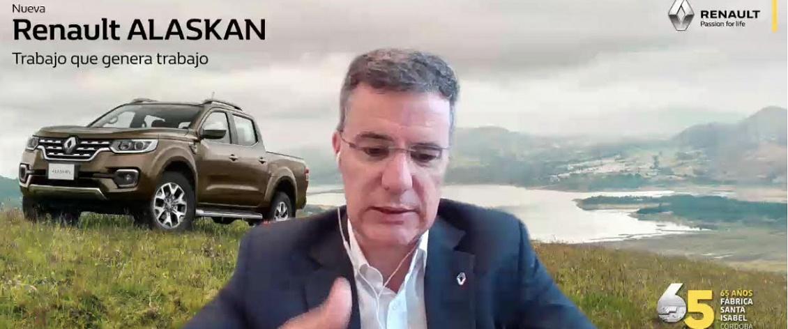 """Renault Alaskan: """"A fin de año empezará su producción"""""""