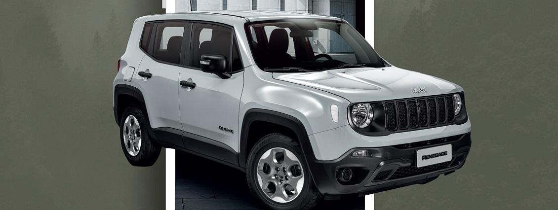 Jeep lanza plataforma digital con versión exclusiva del Renegade