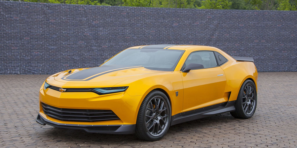 """Chevrolet and """"Transformers: Age of Extinction"""" in theaters June 27."""