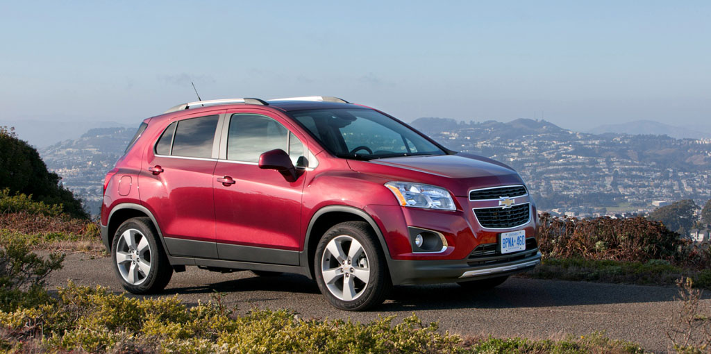 Chevrolet Trax - All-new Small Sport Utility Vehicle