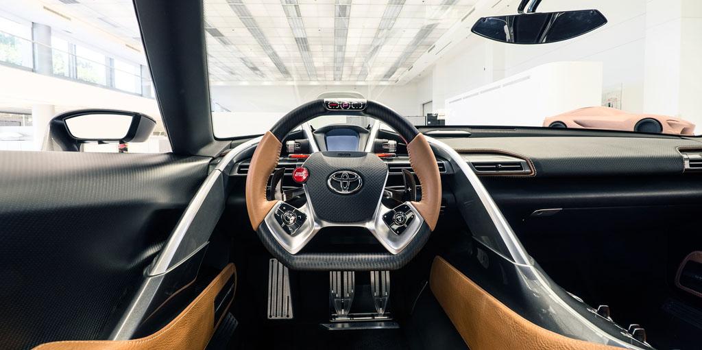 Toyota FT-1 interior
