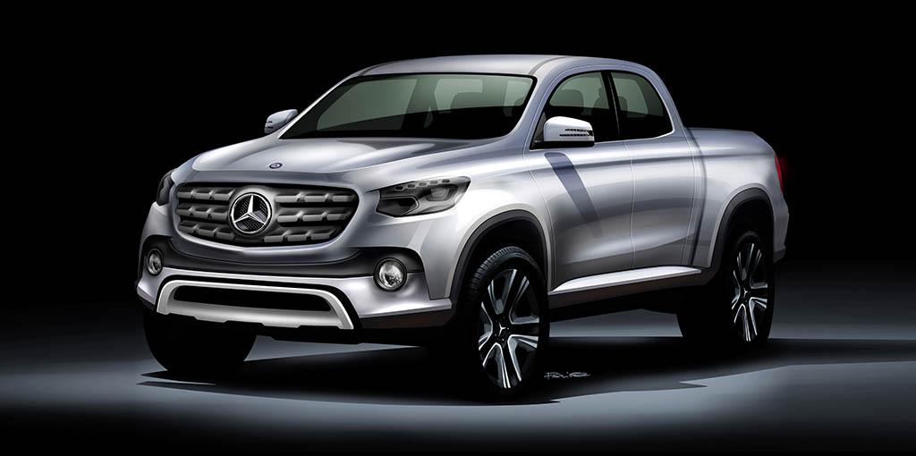 Pick-up de Mercedes-Benz