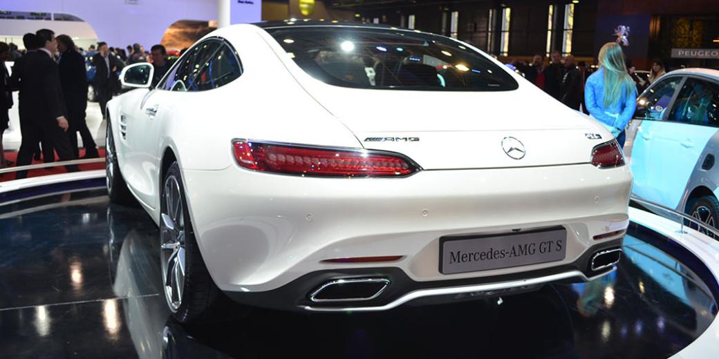 Mercedes Benz AMG GT 2