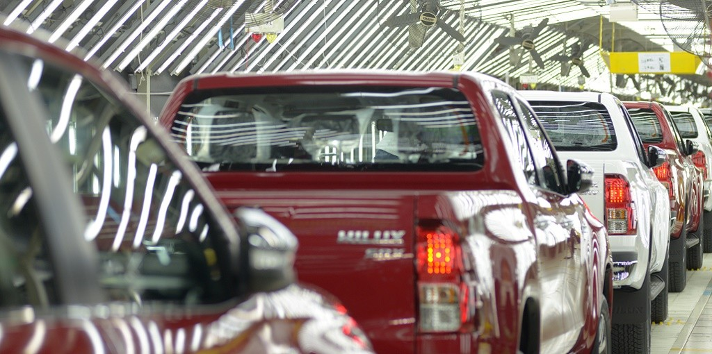 Toyota Hilux fabrica