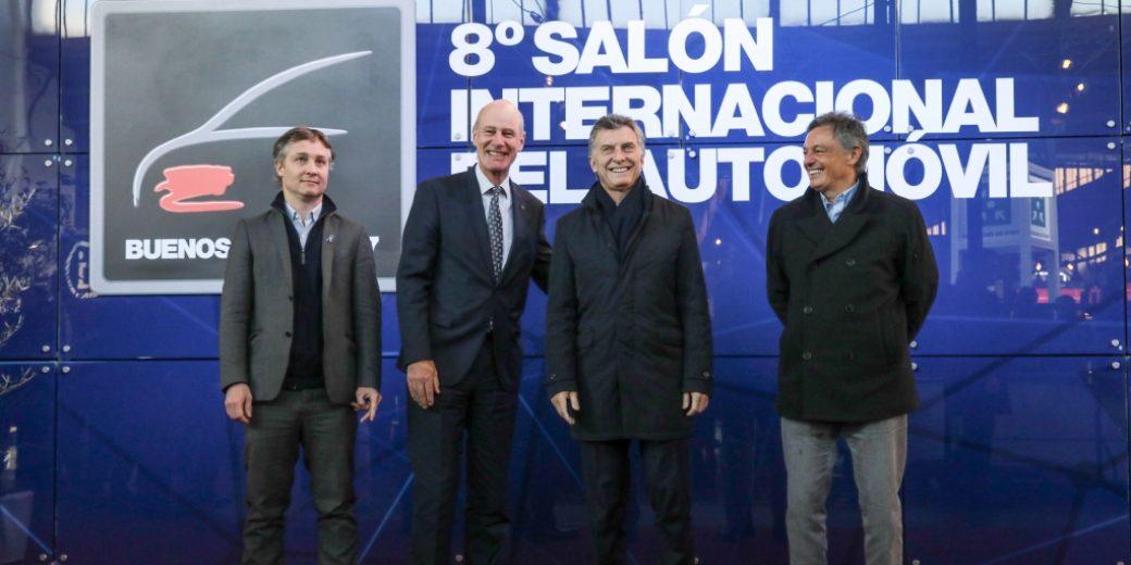 Mauricio Macri – ADEFA – SalonAutoBA