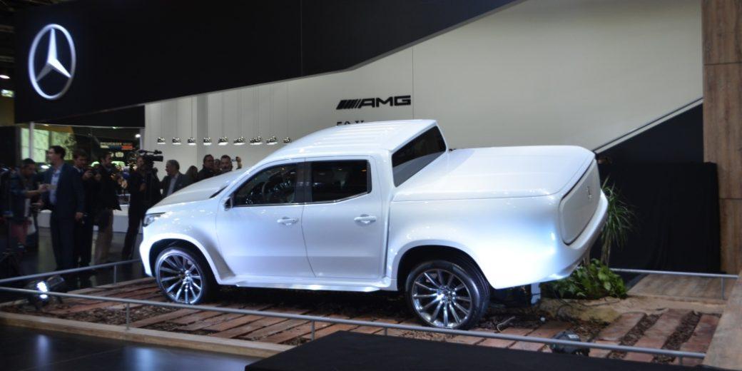 Mercedes Benz Clase X blanca 4