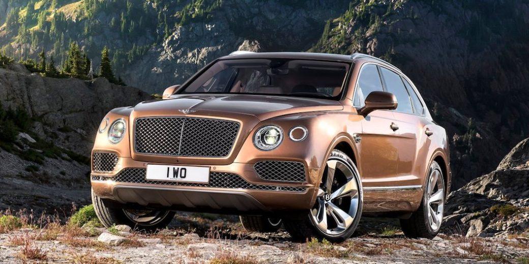 Bentley frente