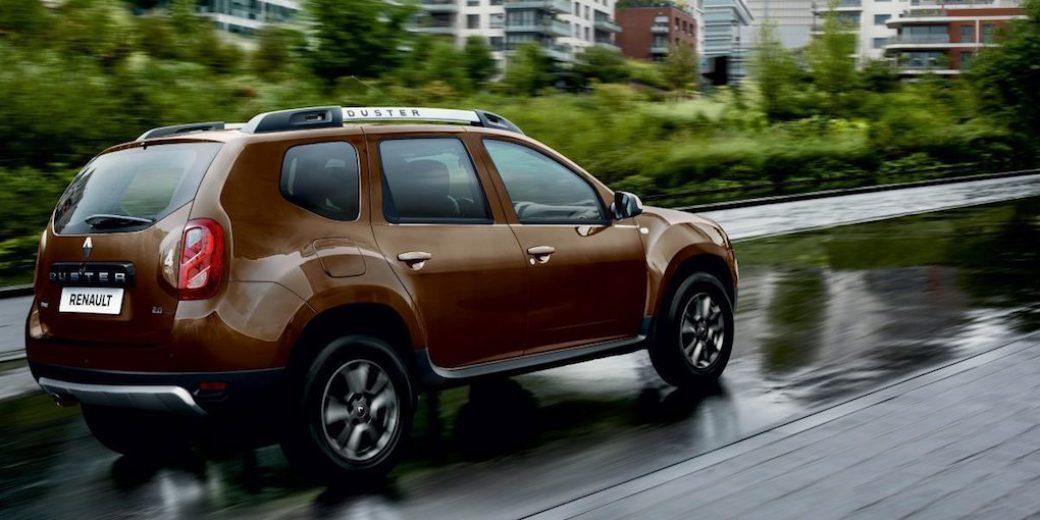 Renault Duster atras