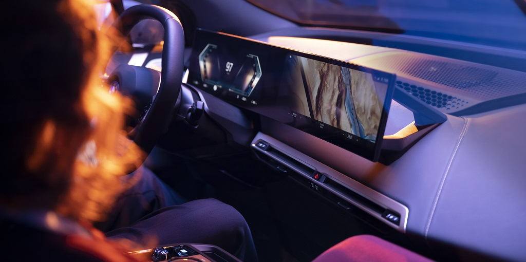 BMW iDrive: ¿Cómo será la nueva pantalla curva?